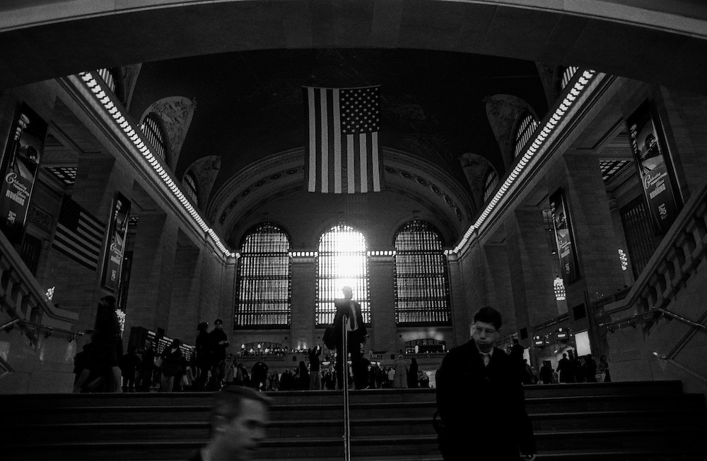 """Grand Central Station, Manhattan...Part of long-term (2005-2008) story """"I See A Darkness"""". New York, NY."""