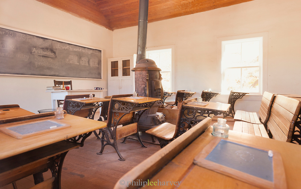 Gifford homestead Old Schoolhouse, Capitol Reef National Park, Utah, United States of America