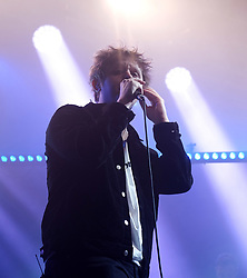Lewis Capaldi surprises fans with Nina Nesbitt at SWG3 in Glasgow as part of her 'The Sun Will Come Up' UK Tour 2019 <br /> <br /> Pictured: Lewis Capaldi<br /> <br /> (c) Aimee Todd   Edinburgh Elite media