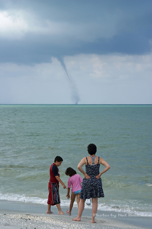 SONY DSC I was on the beach on Sanibel Island in Florida with my family when a water spout appeared out in the Gulf of Mexico. My kids were too busy collecting shells to notice.