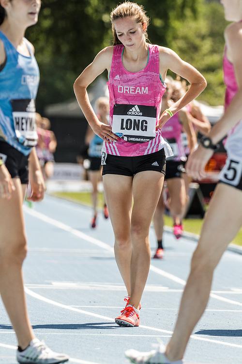 adidas Grand Prix Diamond League Track & Field: high school girls Dream Mile, Hannah Long