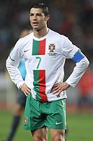 20100303: COIMBRA, PORTUGAL - Portugal vs China: International Friendly. In picture: Cristiano Ronaldo (Portugal). PHOTO: CITYFILES