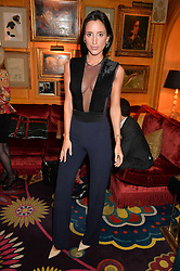 LILY FORTESCUE at the launch of GP Nutrition held at Annabel's, 44 Berkeley Square, London on 26th January 2016.