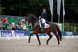 Van Mierlo Danielle, NED, Azzurro<br /> CDI 3* Grand Prix - CHIO Rotterdam 2017<br /> © Hippo Foto - Dirk Caremans<br /> Van Mierlo Danielle, NED, Azzurro