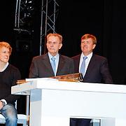 NLD/Arnhem/20121103 - 100 Jarig bestaan NOC/NSF Sportparade, Epke Zonderland, Jacques Rogge, Prins Willem-Alexander en Wouke van Scherrenberg