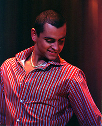 Ant (Anthony) Scott-Lee of 3SL a three piece boy band who are the brothers of Lisa From STEPS<br /><br />3SL appear as support band for SCLUB 7 at Sheffield Arena Friday 9th Feb 2002