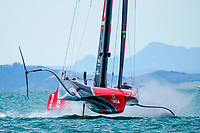 10/03/21 - Auckland (NZL)36th America's Cup presented by PradaAmerica's Cup Match - Race Day 1Emirates Team New Zealand