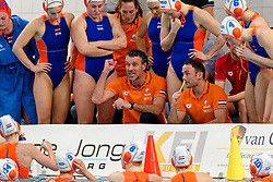 Coach Arno Havenga of Netherlands in action during the friendly match Netherlands vs USA on February 19, 2020 in Amerena Amersfoort.
