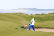 Andrew McCormack on the 12th during Round 4 of The West of Ireland Open Championship in Co. Sligo Golf Club, Rosses Point, Sligo on Sunday 7th April 2019.<br /> Picture:  Thos Caffrey / www.golffile.ie