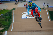 #901 (BIAS Michael) NZL at Round 2 of the 2020 UCI BMX Supercross World Cup in Shepparton, Australia.
