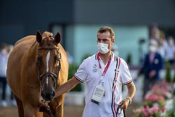 Delmotte Nicolas, FRA, Urvoso Du Roch, 337<br /> Olympic Games Tokyo 2021<br /> © Hippo Foto - Dirk Caremans<br /> 31/07/2021