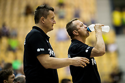 Borut Plaskan of Gorenje during handball match between RK Celje Pivovarna Lasko and RK Gorenje Velenje in Last Round of 1. Liga NLB 2016/17, on June 2, 2017 in Arena Zlatorog, Celje, Slovenia. Photo by Vid Ponikvar / Sportida