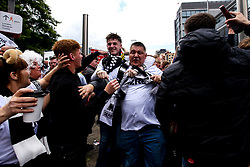 Derby County fans arrive at Wembley for the Sky Bet Playoff Final against Aston Villa - Mandatory by-line: Robbie Stephenson/JMP - 27/05/2019 - FOOTBALL - Wembley Stadium - London, England - Aston Villa v Derby County - Sky Bet Championship Play-off Final