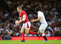 Hadleigh Parkes of Wales<br /> <br /> Photographer Simon King/Replay Images<br /> <br /> Friendly - Wales v England - Saturday 17th August 2019 - Principality Stadium - Cardiff<br /> <br /> World Copyright © Replay Images . All rights reserved. info@replayimages.co.uk - http://replayimages.co.uk