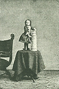 Princess Pauline Munsters 1886. The smallest woman in the world recorded.