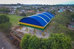 8ª CRE – ESC. EST. EDUC. BAS. AUGUSTO RUSCHI, em Santa Maria. Construção de quadra esportiva coberta. R$ 479 mil. FOTO: Jefferson Bernardes/ Agência Preview