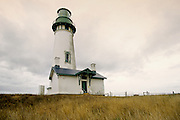 Image of the Yaquina Head Lighthouse in Newport, Oregon, Pacific Northwest by Andrea Wells