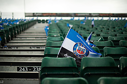 A general view of a Bath Rugby flag in the east stand - Mandatory byline: Patrick Khachfe/JMP - 07966 386802 - 13/10/2018 - RUGBY UNION - The Recreation Ground - Bath, England - Bath Rugby v Toulouse - Heineken Champions Cup
