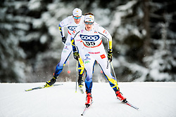 December 16, 2017 - Toblach, ITALY - 171216 Anton Lindblad of Sweden competes in men's 15km interval start free technique during FIS Cross-Country World Cup on December 16, 2017 in Toblach..Photo: Jon Olav Nesvold / BILDBYRN / kod JE / 160104 (Credit Image: © Jon Olav Nesvold/Bildbyran via ZUMA Wire)
