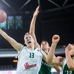 20151011: SLO, Basketball - ABA League 2015/16, KK Union Olimpija Ljubljana vs KK Krka