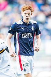 Falkirk's Scott Shepherd.<br /> Falkirk 1v 1 Dumbarton, Scottish Championship game played 20/9/2014 at The Falkirk Stadium .