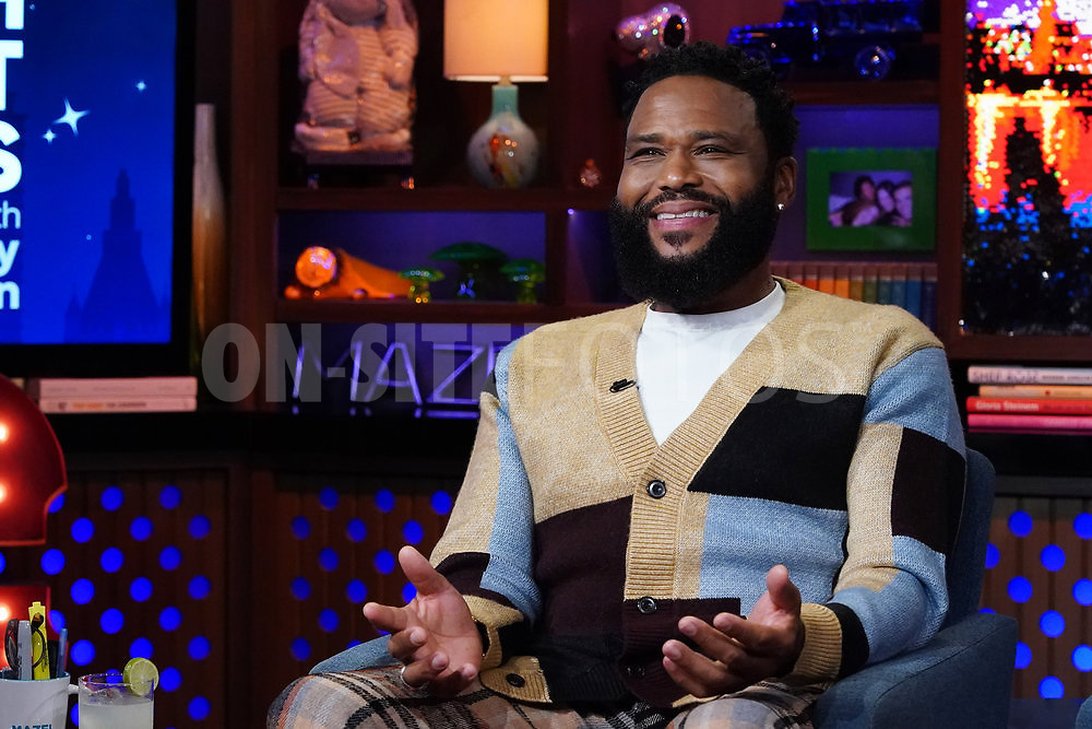 WATCH WHAT HAPPENS LIVE WITH ANDY COHEN -- Episode 18162 -- Pictured: Anthony Anderson -- (Photo by: Charles Sykes/Bravo)