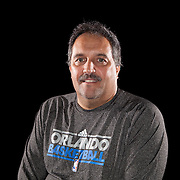 Head Coach Stan VanGundy of the Orlando Magic media day at the Amway Center in downtown Orlando, Florida.