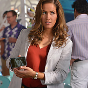"""ROSEWOOD: Jaina Lee Ortiz in the """"Boatopsy & Booty"""" episode of ROSEWOOD airing Thursday, Oct. 13 (8:00-8:59 PM ET/PT) on FOX. ©2016 Fox Broadcasting Co. CR: Lisa Rose/FOX"""