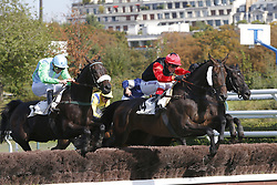 September 23, 2017 - Auteuil, France, France - Course 3 - Borice - David Gallon - Brut Imperial - Jonathan Plouganou (Credit Image: © Panoramic via ZUMA Press)