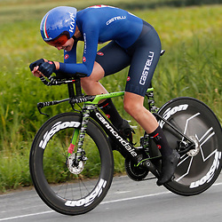 KNOKKE HEIST (BEL) July 10 CYCLING: <br /> 3th Stage Baloise Belgium tour Time Trial: Martina Alzini