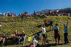 Supporters during the Men Elite Road Race at 258.5km Race from Kufstein to Innsbruck 582m at the 91st UCI Road World Championships 2018 / RR / RWC / on September 30, 2018 in Innsbruck, Austria. Photo by Vid Ponikvar / Sportida