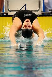 25.11.2010, Pieter van den Hoogenband Zwemstadion, Eindhoven, NED, Kurzbahn Schwimm EM, im Bild Elena GEMO 100m Backstroke.. // Eindhoven 25/11/2010 .European Short Course Swimming Championships, EXPA/ InsideFoto/ Staccioli+++++ ATTENTION - FOR USE IN AUSTRIA/AUT AND SLOVENIA/SLO ONLY +++++ / SPORTIDA PHOTO AGENCY