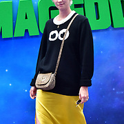 Portia Freeman with Dylan and Rudy attend the Shaun the Sheep Movie: Farmageddon, at ODEON LUXE on 22 September 2019,  London, UK.