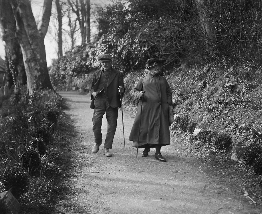 A Lane at St. Just-in-Roseland, Cornwall, England, 1932