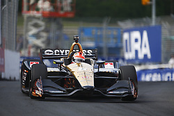 July 14, 2018 - Toronto, Ontario, Canada - JAMES HINCHCLIFFE (5) of Canada takes to the track to practice for the Honda Indy Toronto at Streets of Toronto in Toronto, Ontario. (Credit Image: © Justin R. Noe Asp Inc/ASP via ZUMA Wire)