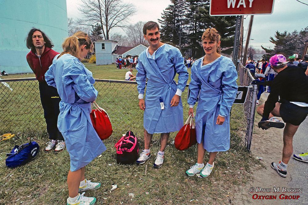 Pre-Race Boston Marathon 1991