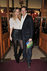 BRENDAN COLE and ZOE HOBBS at the opening night of Totem by Cirque du Soleil held at The Royal Albert Hall, London on 5th January 2011.
