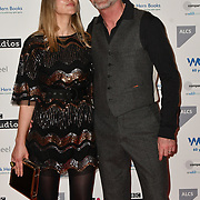Hugo Speer and Vivienne Harvey attends 2019 Writers' Guild Awards at Royal College of Physicians on 14 January 2019, London, UK