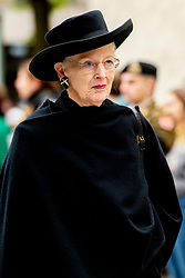 Queen Margrethe of Denmark at the funeral of Grand Duke Jean of Luxembourg at Cathedral Notre-Dame of Luxembourg in Luxembourg City, Luxembourg on May 4, 2019. Grand Duke Jean of Luxembourg has died at 98, April 23, 2019. Photo by Robin Utrecht/ABACAPRESS.COM
