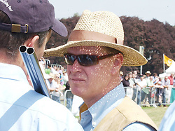 James Hewitt, the former lover of Diana, Princess of Wales, who was released on bail Thursday after being arrested by police in a drugs bust, at the Game Fair at Blenheim Palace in Oxfordshire. Hewitt, 46, was arrested in the street near his home in Chelsea, west London, along with TV presenter Alison Bell, 37, a former girlfriend of the Earl of Wessex, who he has been seeing for three months.