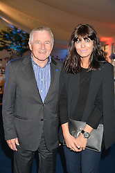 JONATHAN DIMBLEBY and CLAUDIA WINKLEMAN at the World's Greatest Quiz Night in aid of the Quintessentially Foundation and Dimbleby Cancer Care held at the Riverside Parliament Panorama marquee at St Thomas' Hospital, Westminster Bridge Road, Londonon 15th September 2015.