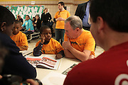 New York, NY- January 16:  NYC Mayor Michael Bloomberg at the New York City Service Program in Honor of Martin Luther King Jr. Day held at the Mirabel Sisters Campus in West Harlem, New York City.  Photo Credit: Terrence Jennings