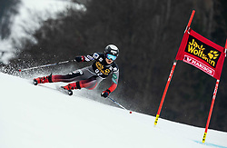 ANDO Asa of Japan competes during the 6th Ladies'  GiantSlalom at 55th Golden Fox - Maribor of Audi FIS Ski World Cup 2018/19, on February 1, 2019 in Pohorje, Maribor, Slovenia. Photo by Vid Ponikvar / Sportida