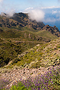 View of Masca, Tenerife, from above