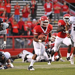 Sep 12, 2009; Piscataway, NJ, USA; Rutgers running back De'Antwan Williams (34) rushes the ball during the second half of Rutgers' 45-7 victory over Howard in NCAA college football at Rutgers Stadium