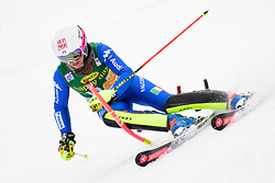 January 7, 2018 - Kranjska Gora, Gorenjska, Slovenia - Chiara Costazza of Italy competes on course during the Slalom race at the 54th Golden Fox FIS World Cup in Kranjska Gora, Slovenia on January 7, 2018. (Credit Image: © Rok Rakun/Pacific Press via ZUMA Wire)