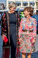 Prinses Margriet en Prinses Laurentien zijn aanwezig bij de tiende uitreiking van de ECF Princess Ma