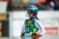 Elena Stoffel (SUI) during second run at the Ladies' Slalom at 56th Golden Fox event at Audi FIS Ski World Cup 2019/20, on February 16, 2020 in Podkoren, Kranjska Gora, Slovenia. Photo by Matic Ritonja / Sportida