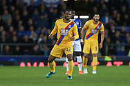 Jason Puncheon of Crystal Palace looks on. Premier league match, Everton v Crystal Palace at Goodison Park in Liverpool, Merseyside on Friday 30th September 2016.<br /> pic by Chris Stading, Andrew Orchard sports photography.