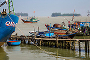 One of the Fishing Docks surrounded by fishing boats.